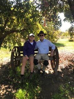 Julia & her dad